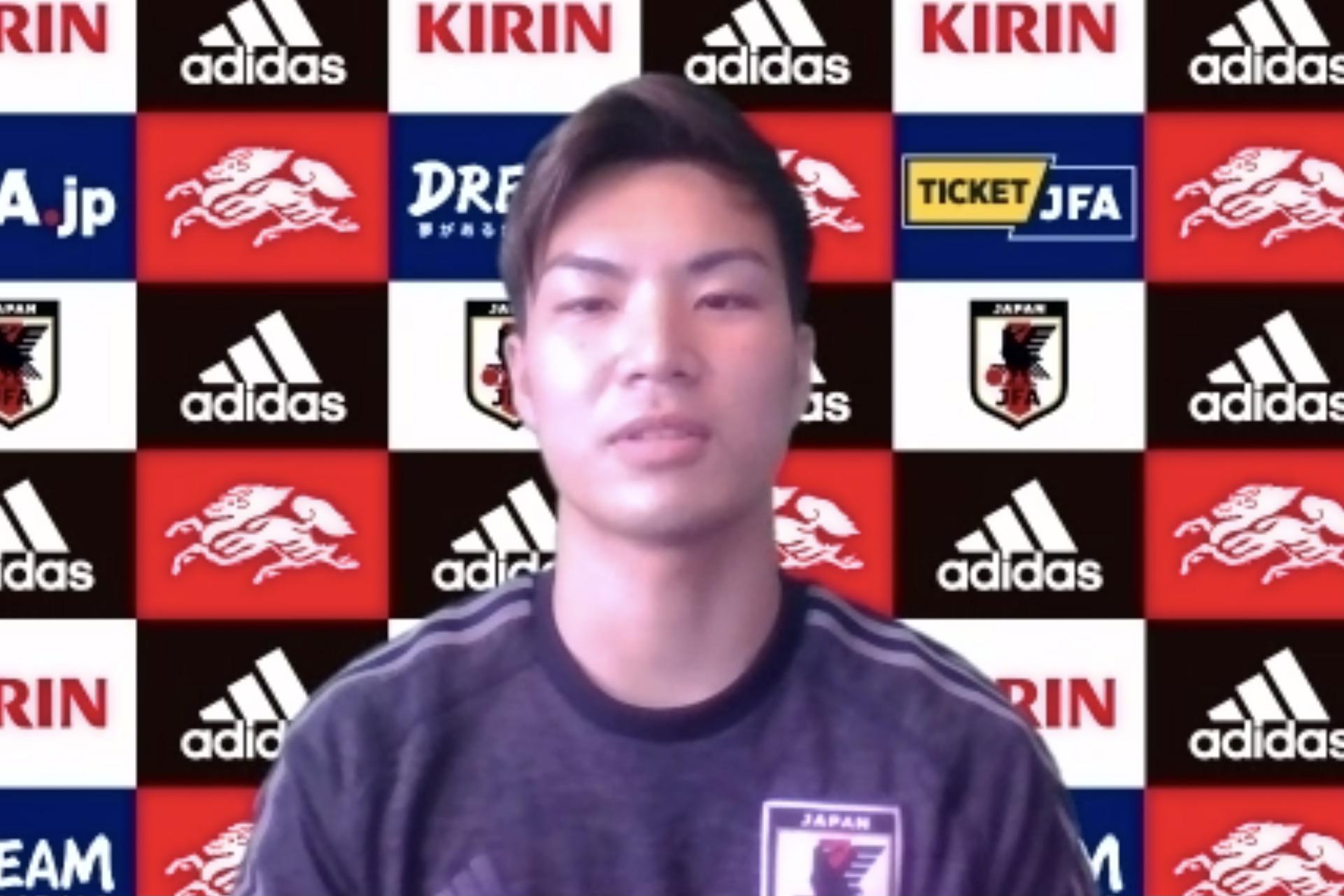 """【日本代表/WEB取材】""""U-20アジア王者世代""""でA代表一番乗りの毛利元亮。「負けないぞという気持ちでやってきた。でも選ばれるだけがすべてではない」"""