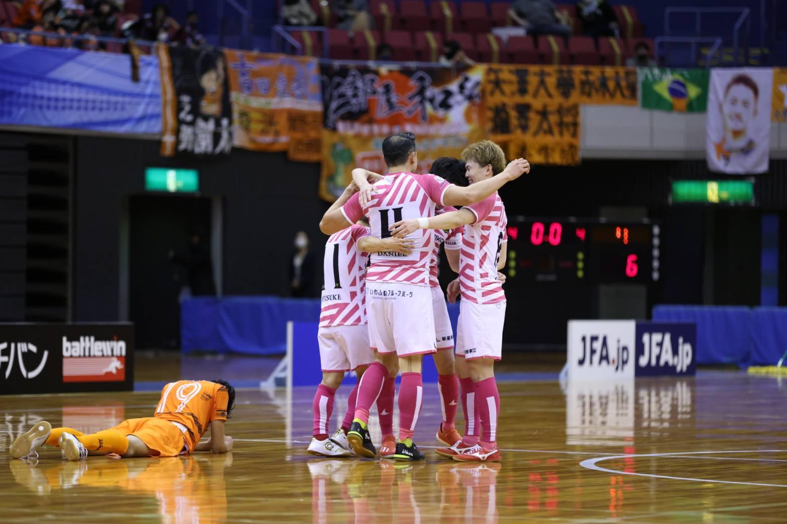 【柏 記者会見/全日本選手権準決勝vs大分】F2王者がバサジィに4点を先制した末、6-5で勝利。日本一へ王手をかける!
